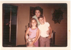Me, mom and brother San Diego 1976